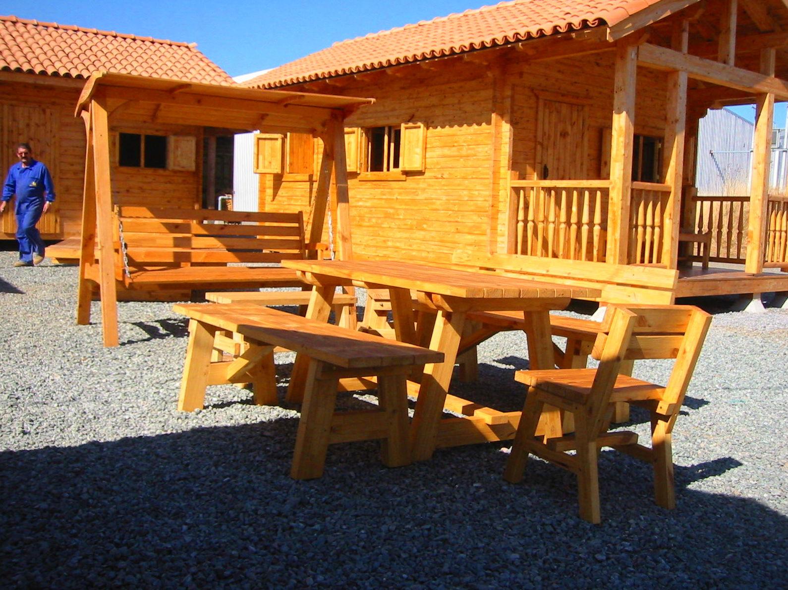 Casetas de Jardín y mobiliario