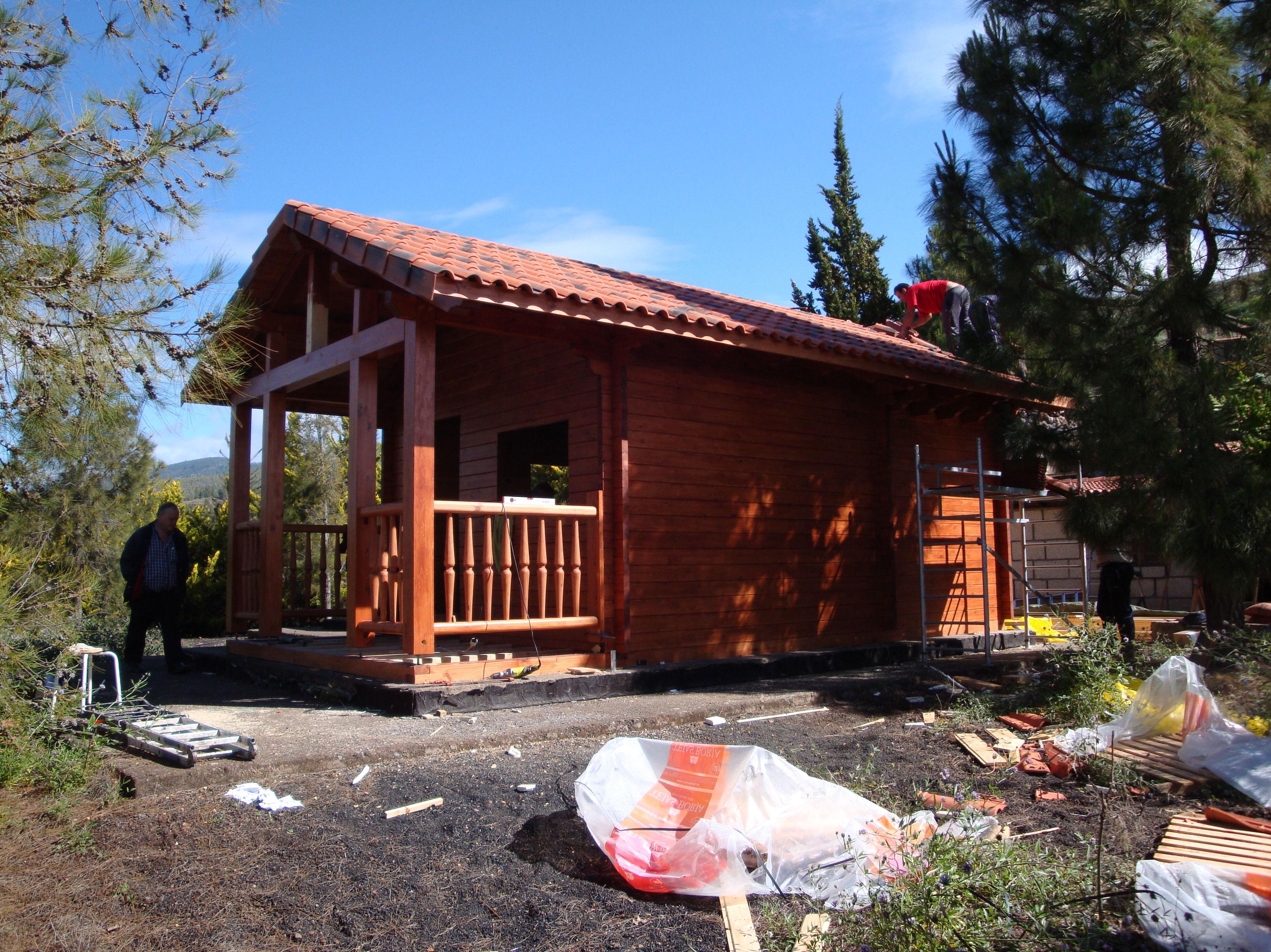 Cabaña madera Tenerife wood cabin