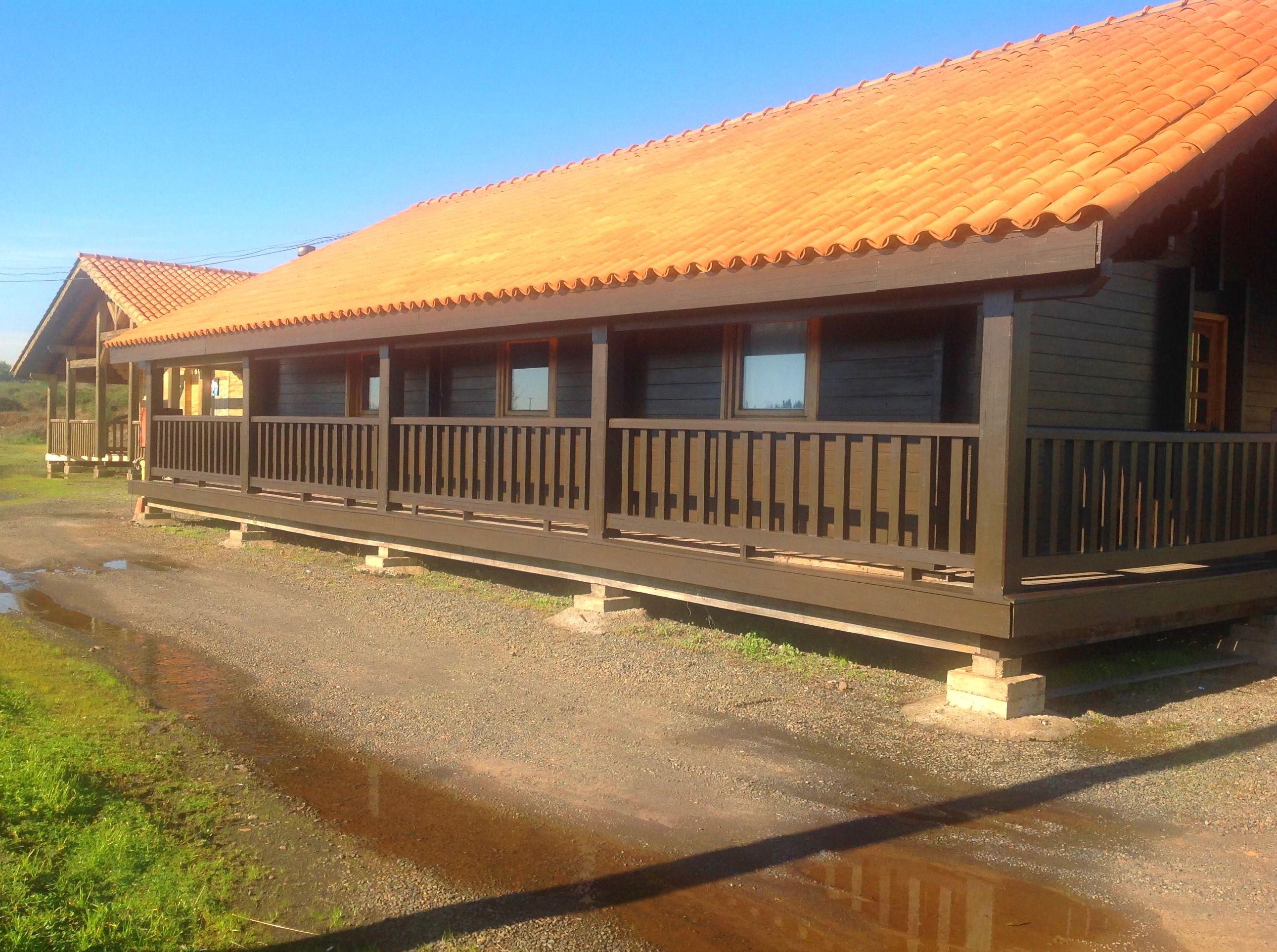 Casa Madera porche lateral