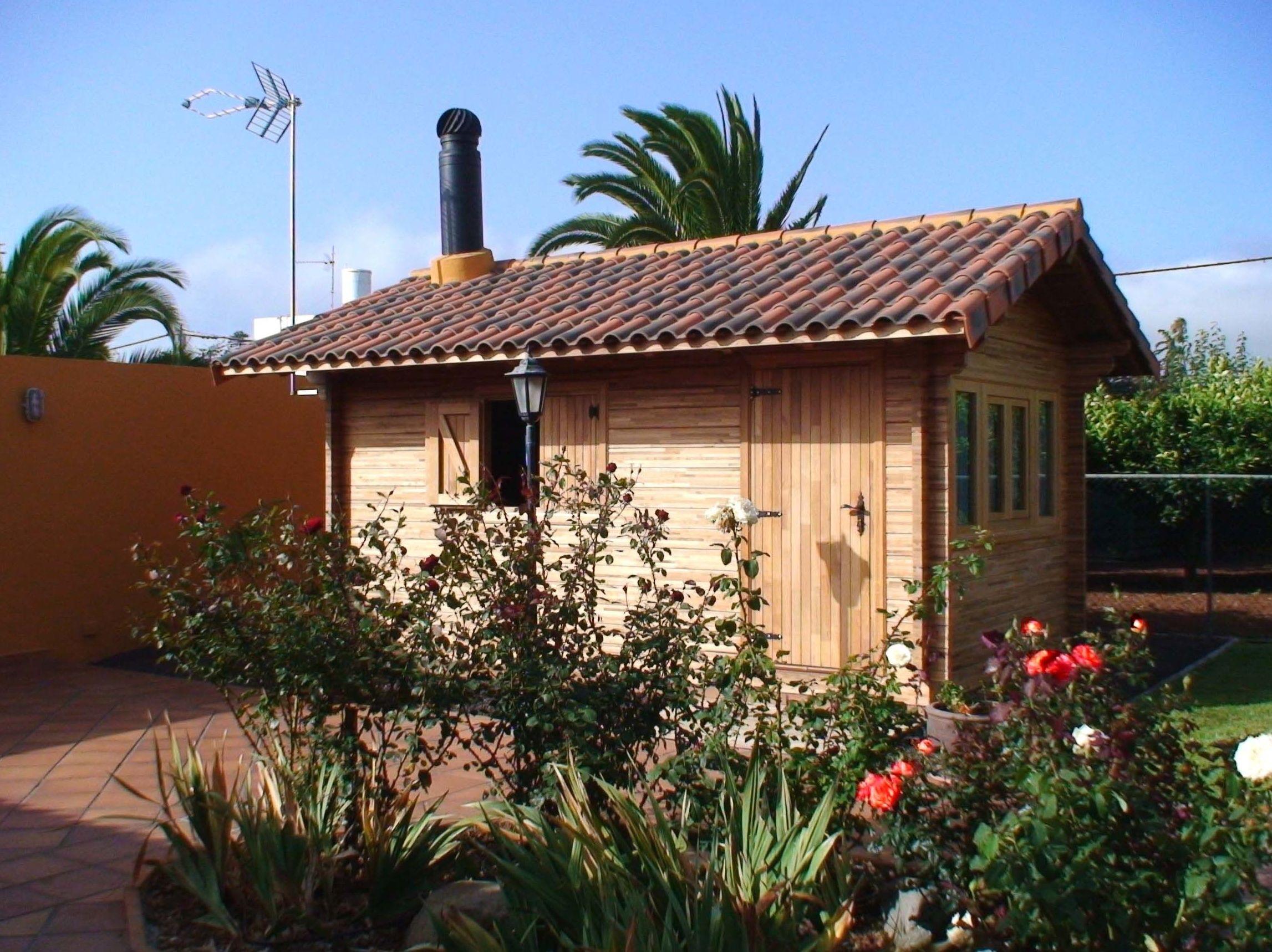 Cabaña de jardín de madera 15 m² Cortelima