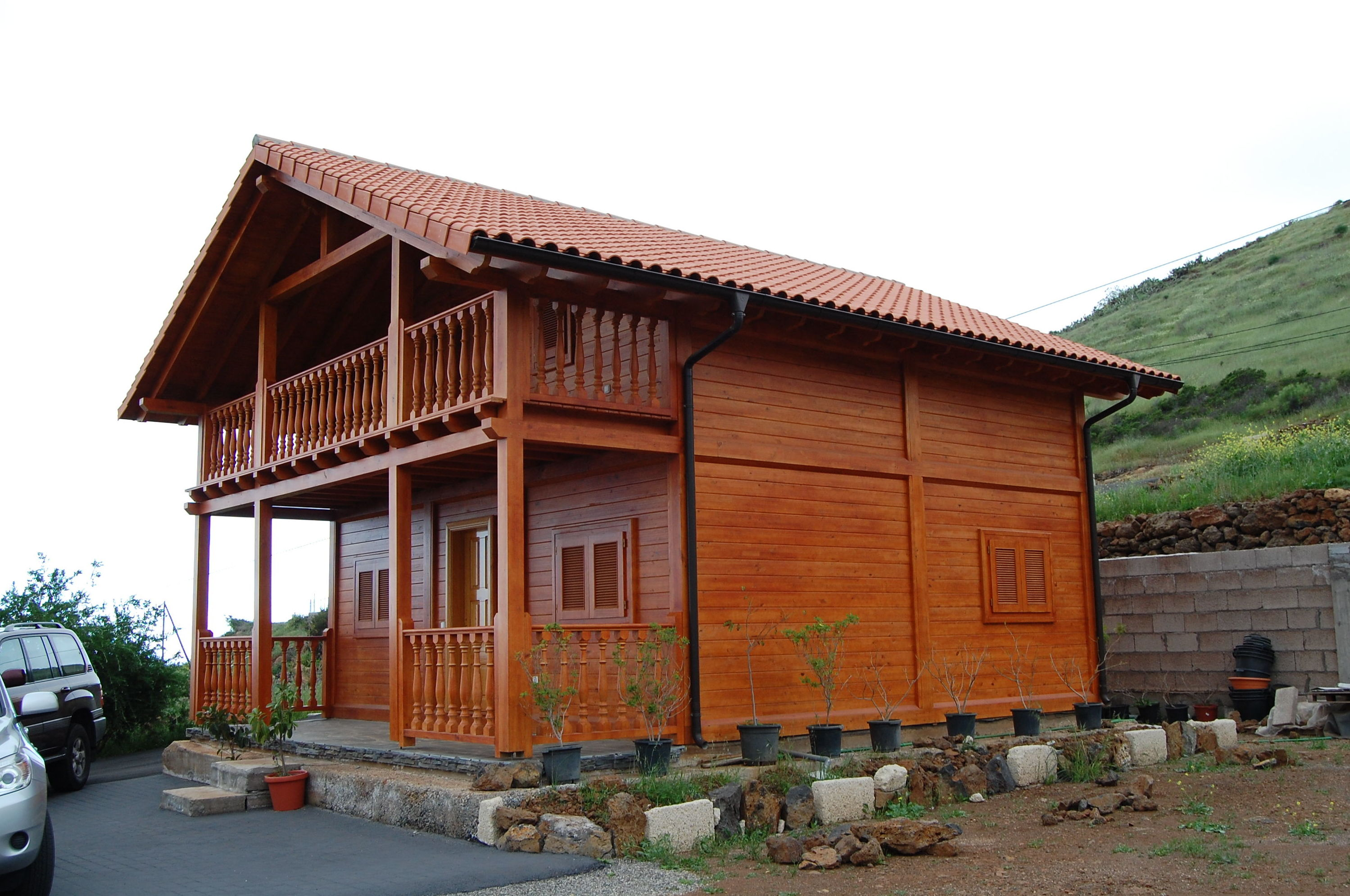 Wood house Cabin Las Americas