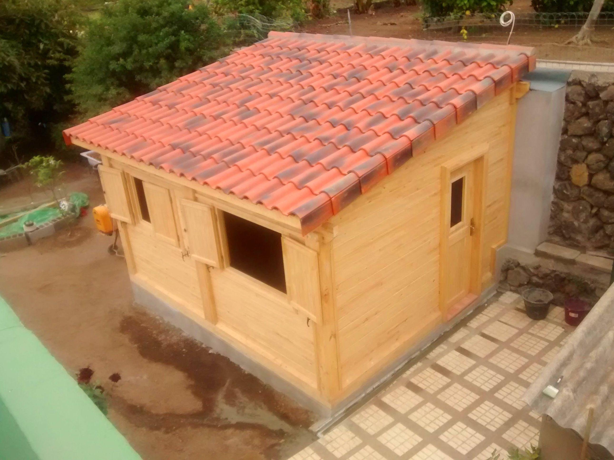 Cabaña de madera Jardín