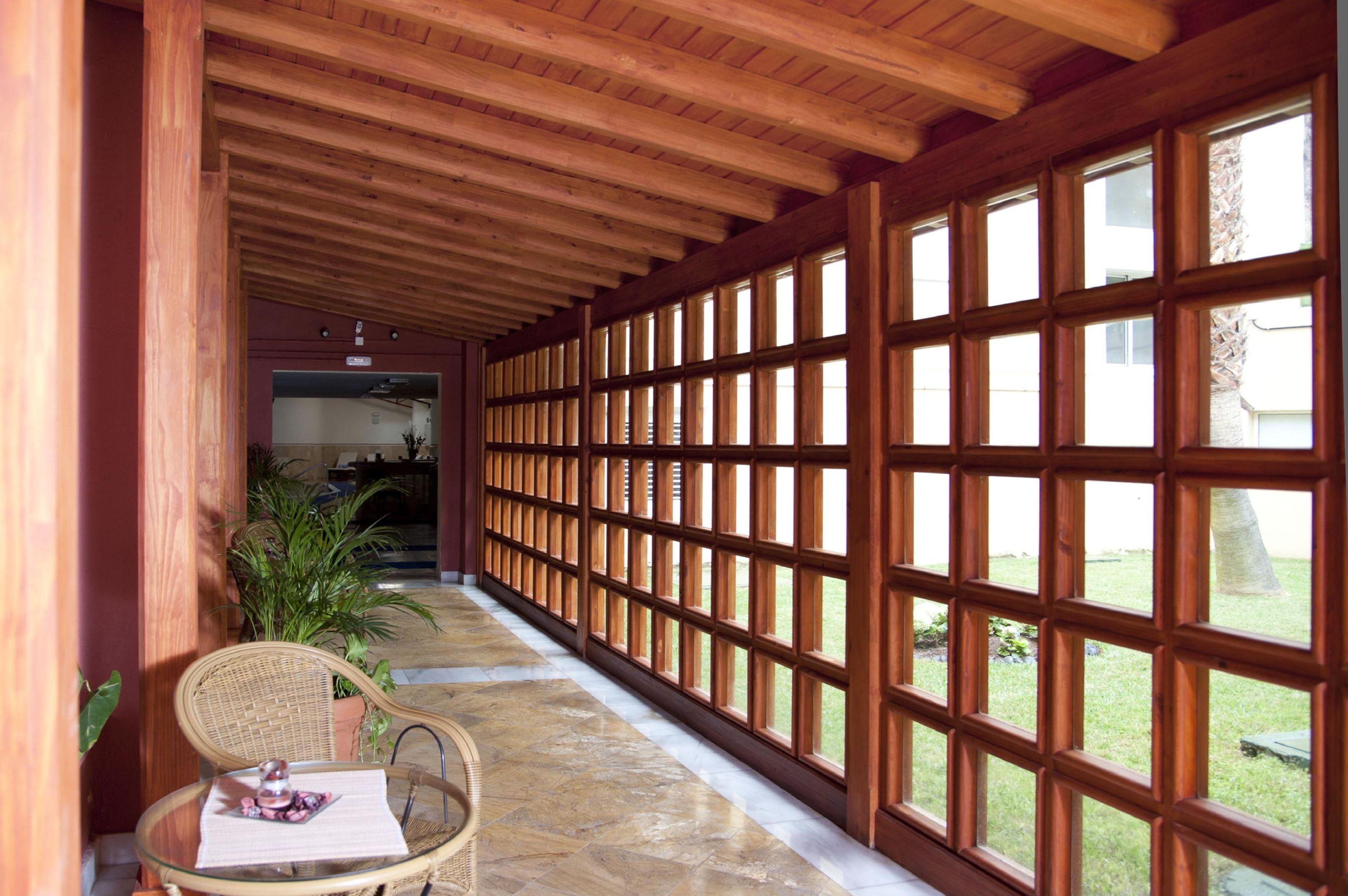 Wood Veranda Roof Tenerife