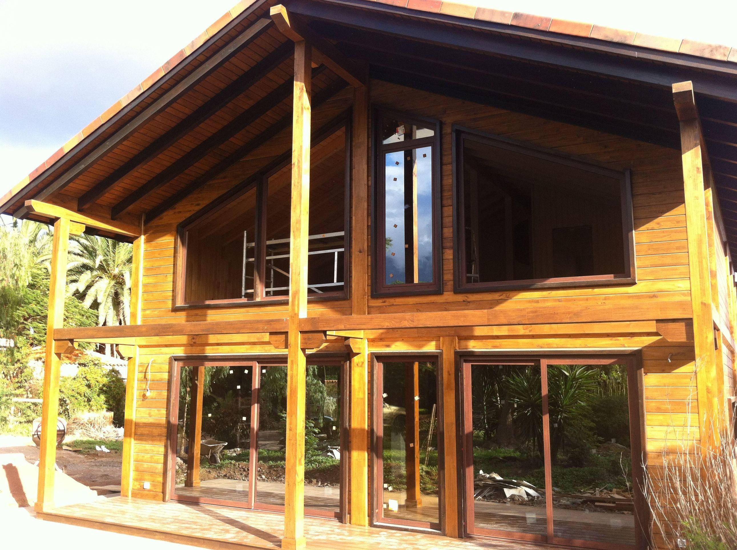 Casa Madera 2 plantas Candelaria CORTELIMA