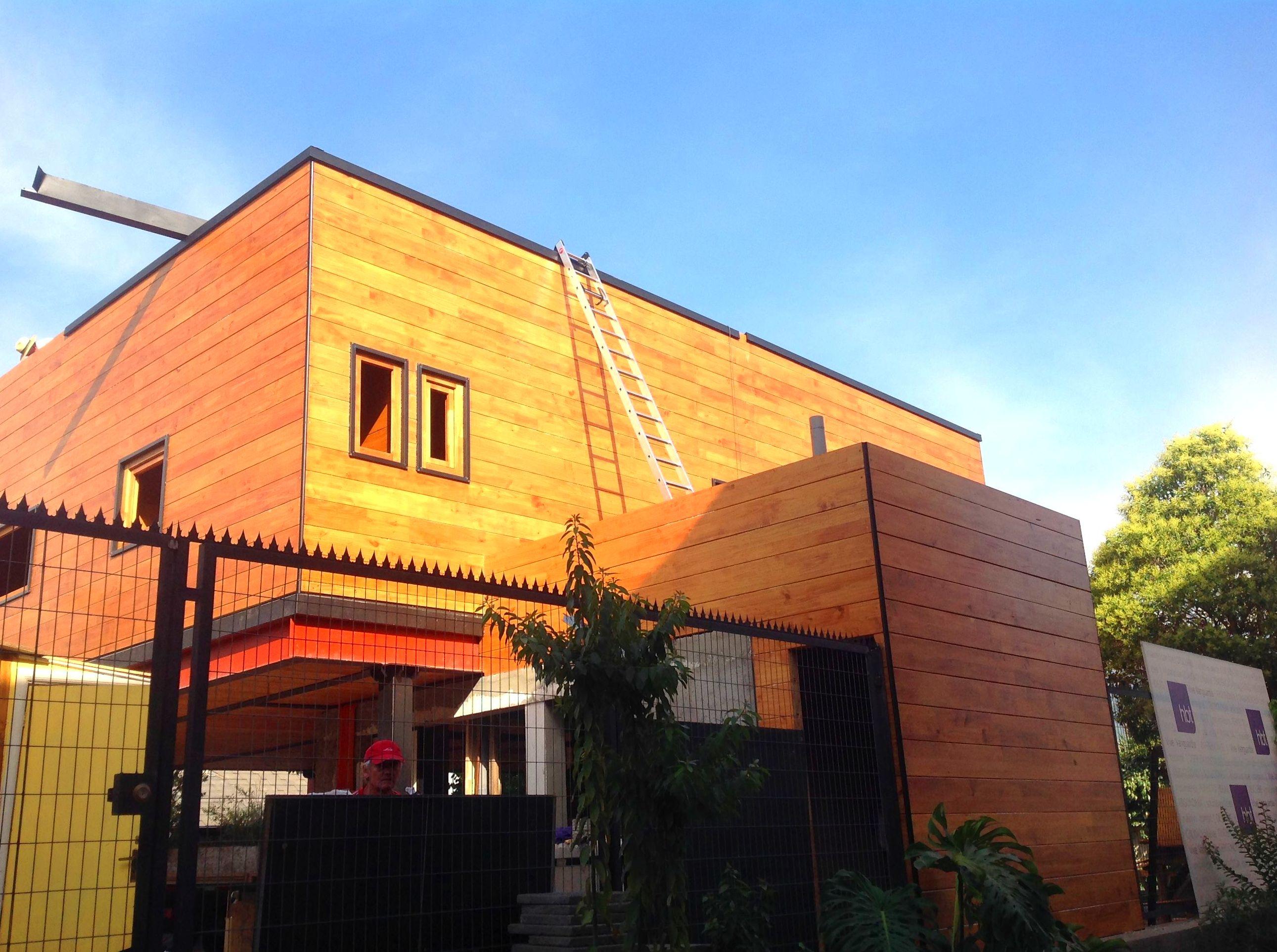 Casa Madera moderna Cortelima