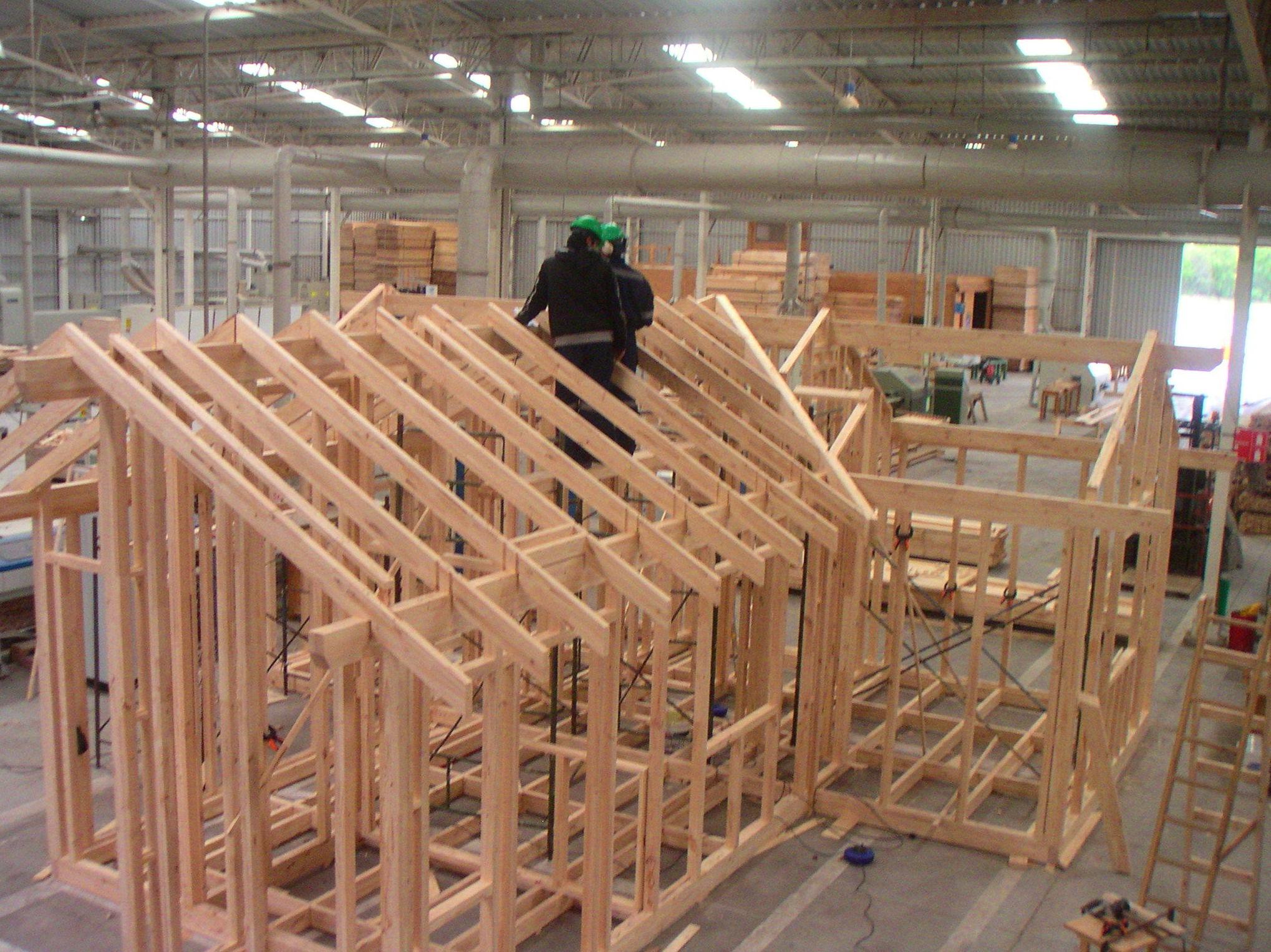Casas de madera prefabricada y a medida
