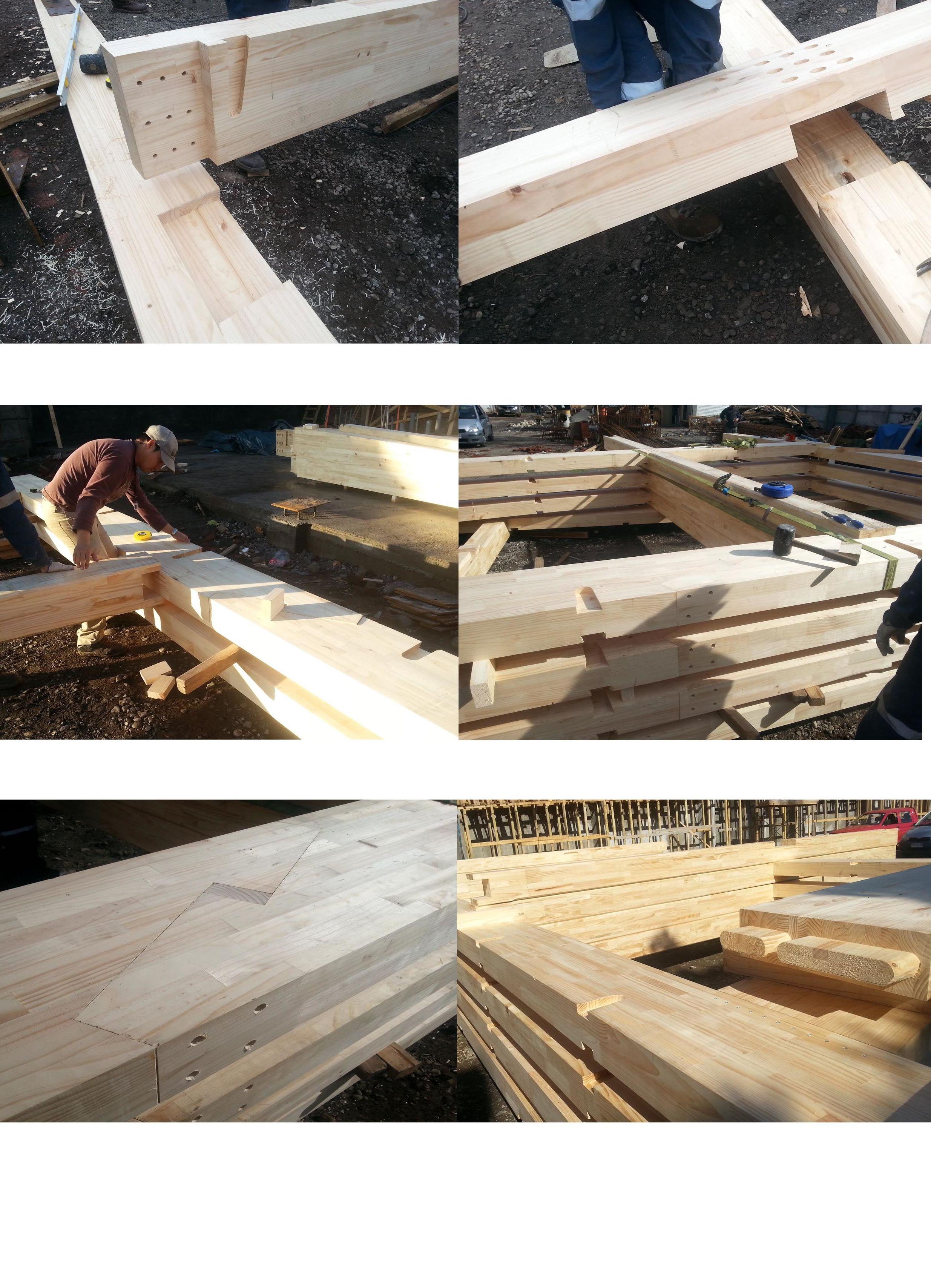 Casas madera laminada