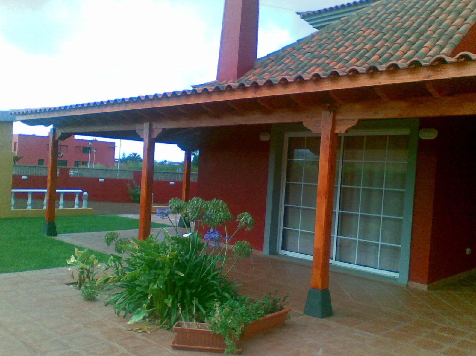 Porche Wood Porch Veranda Tenerife