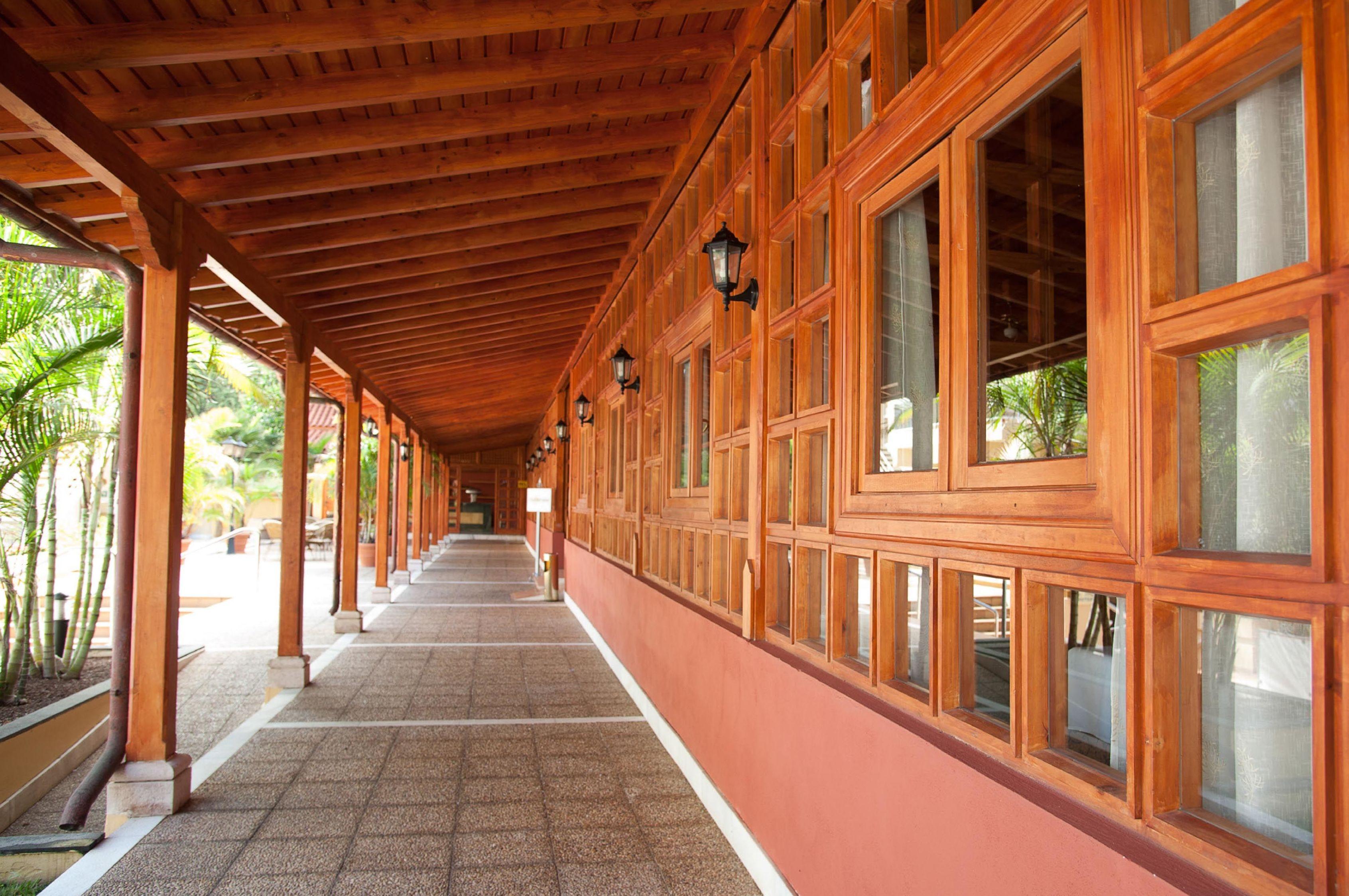 Techo Madera Wood Veranda Porch Tenerife