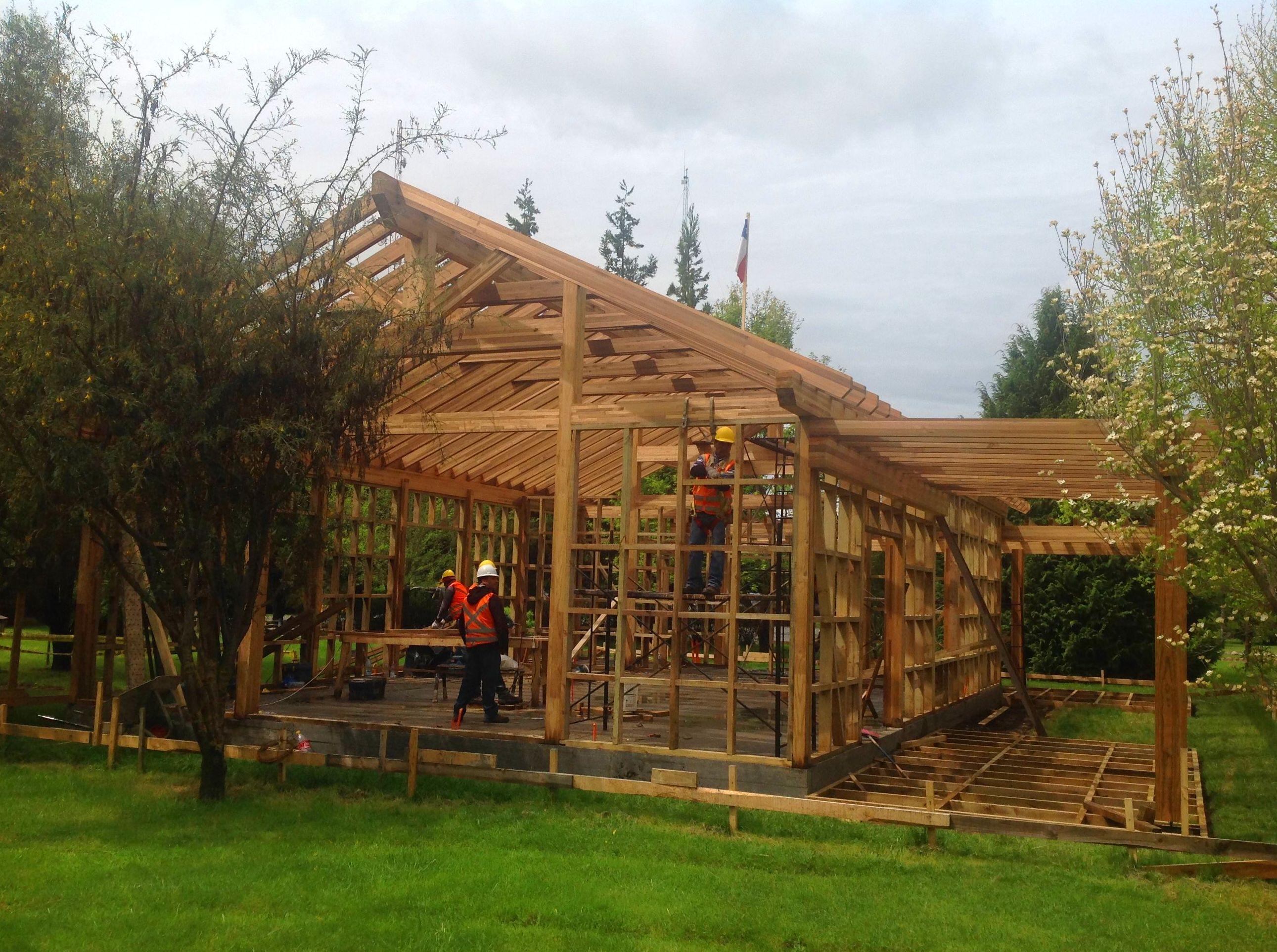 Foto 168 de casas de madera en tacoronte cortelima - Montaje casa de madera ...