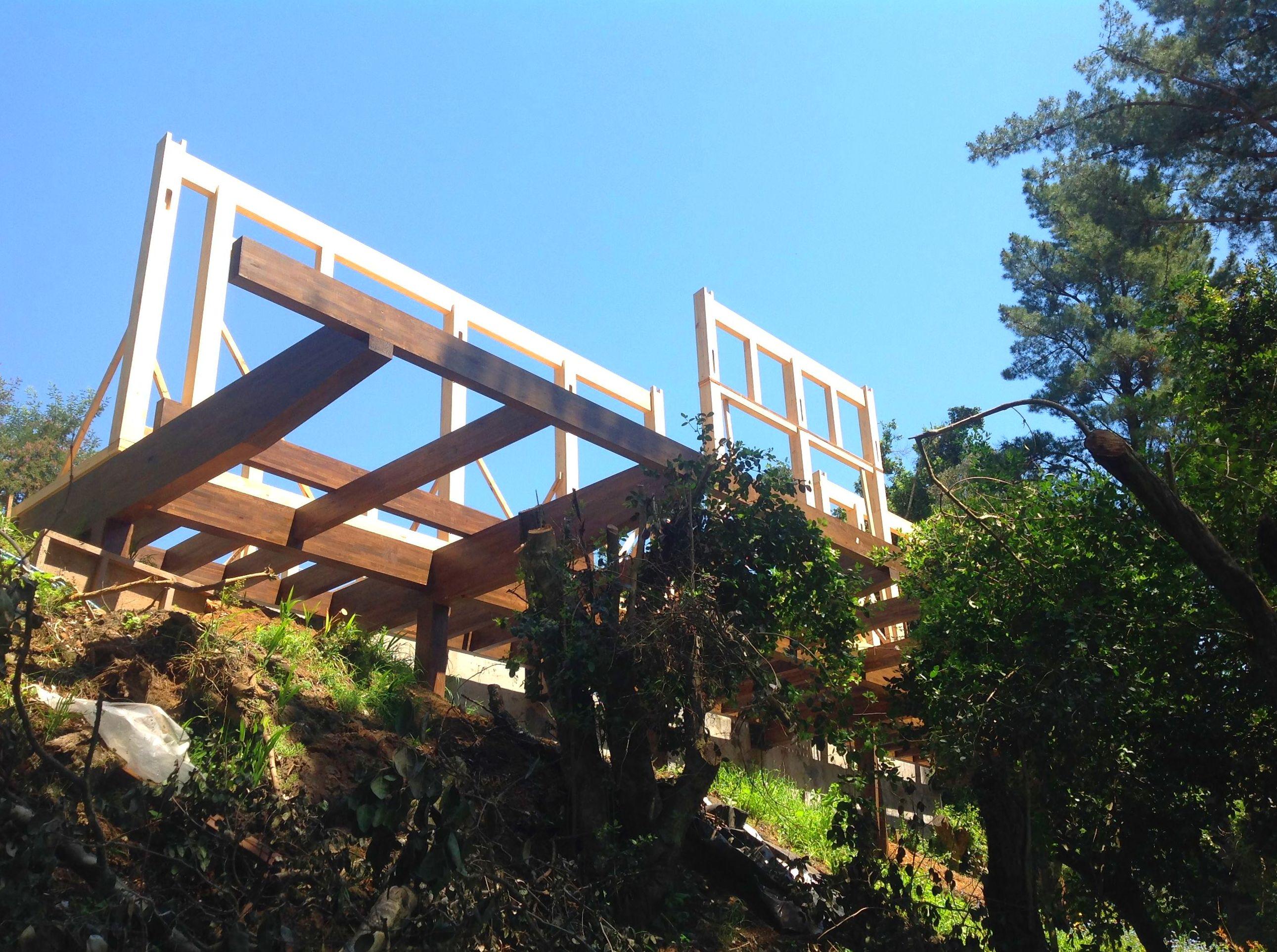Montaje casa de Madera Cortelima