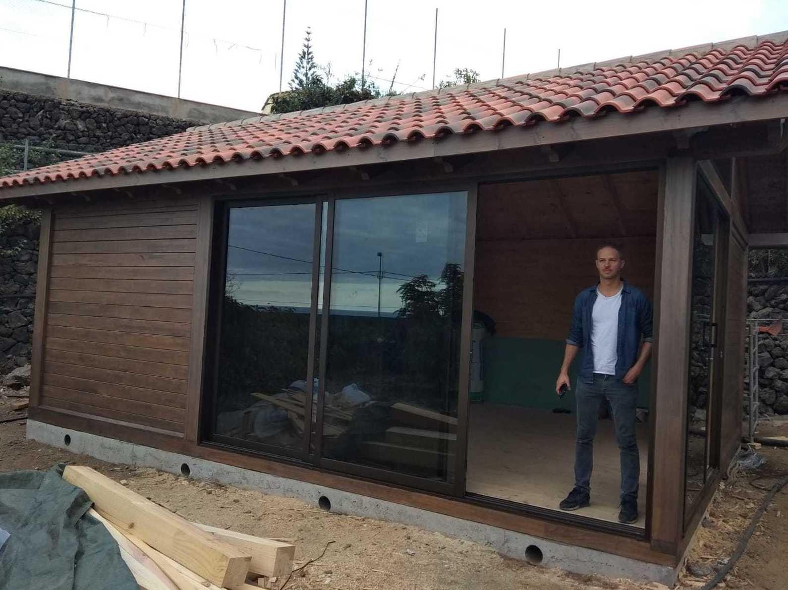 Cabaña 7 x 5 madera Icod
