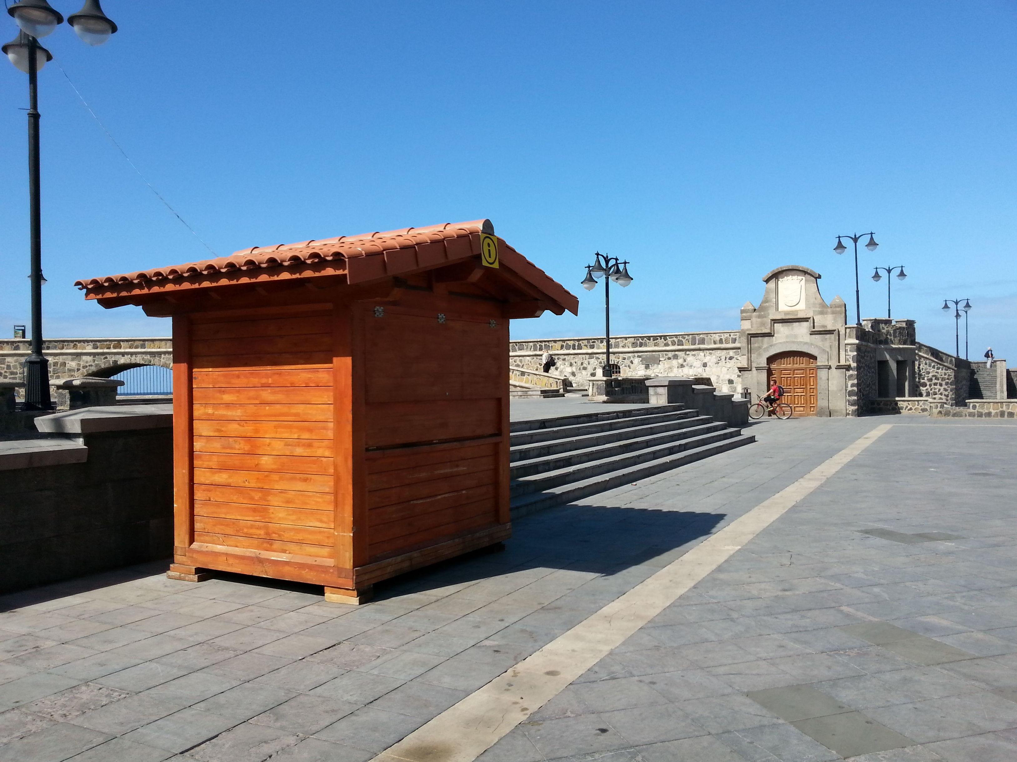 Kiosco Madera Puerto de la Cruz