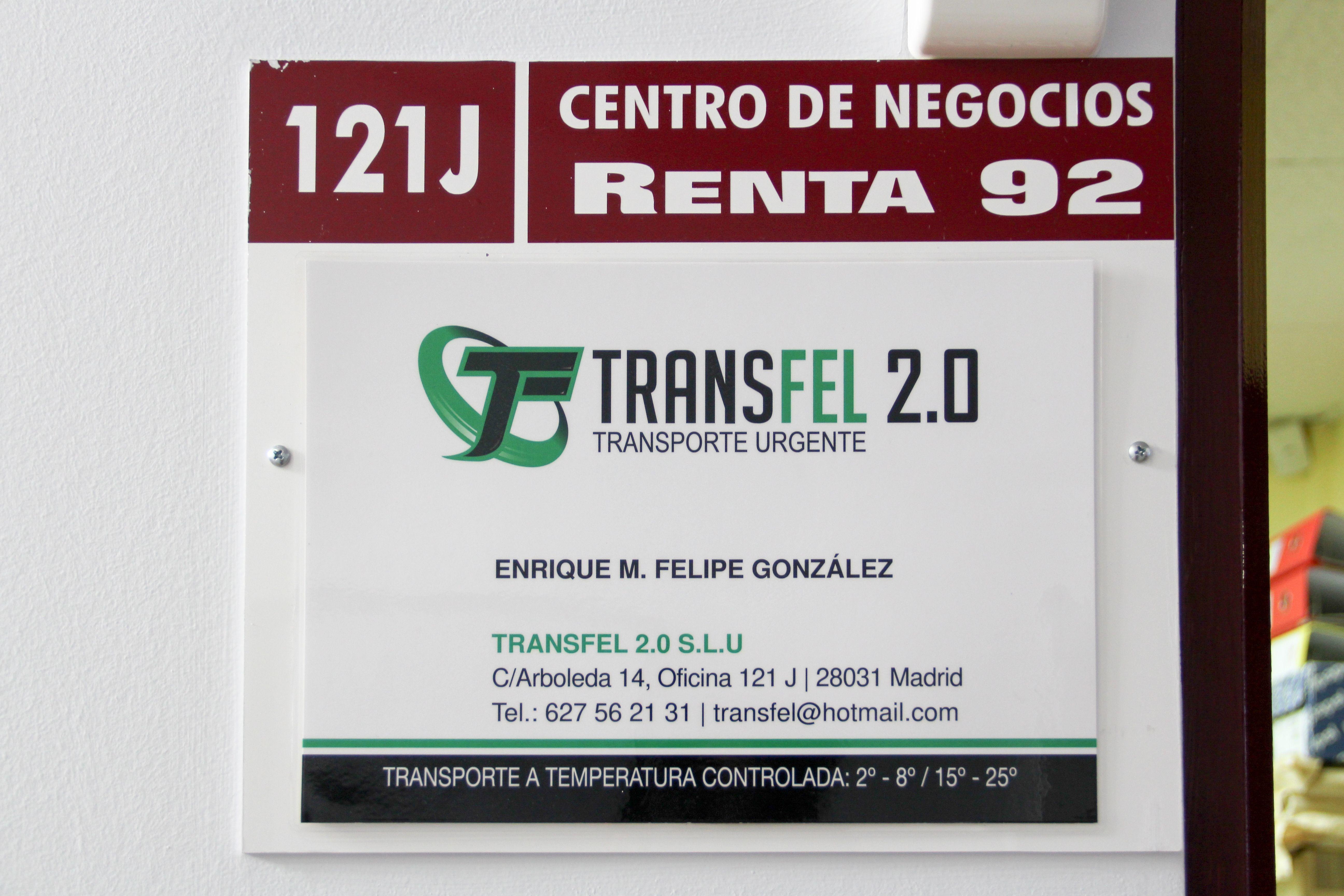 Rótulo Transfel 2.0