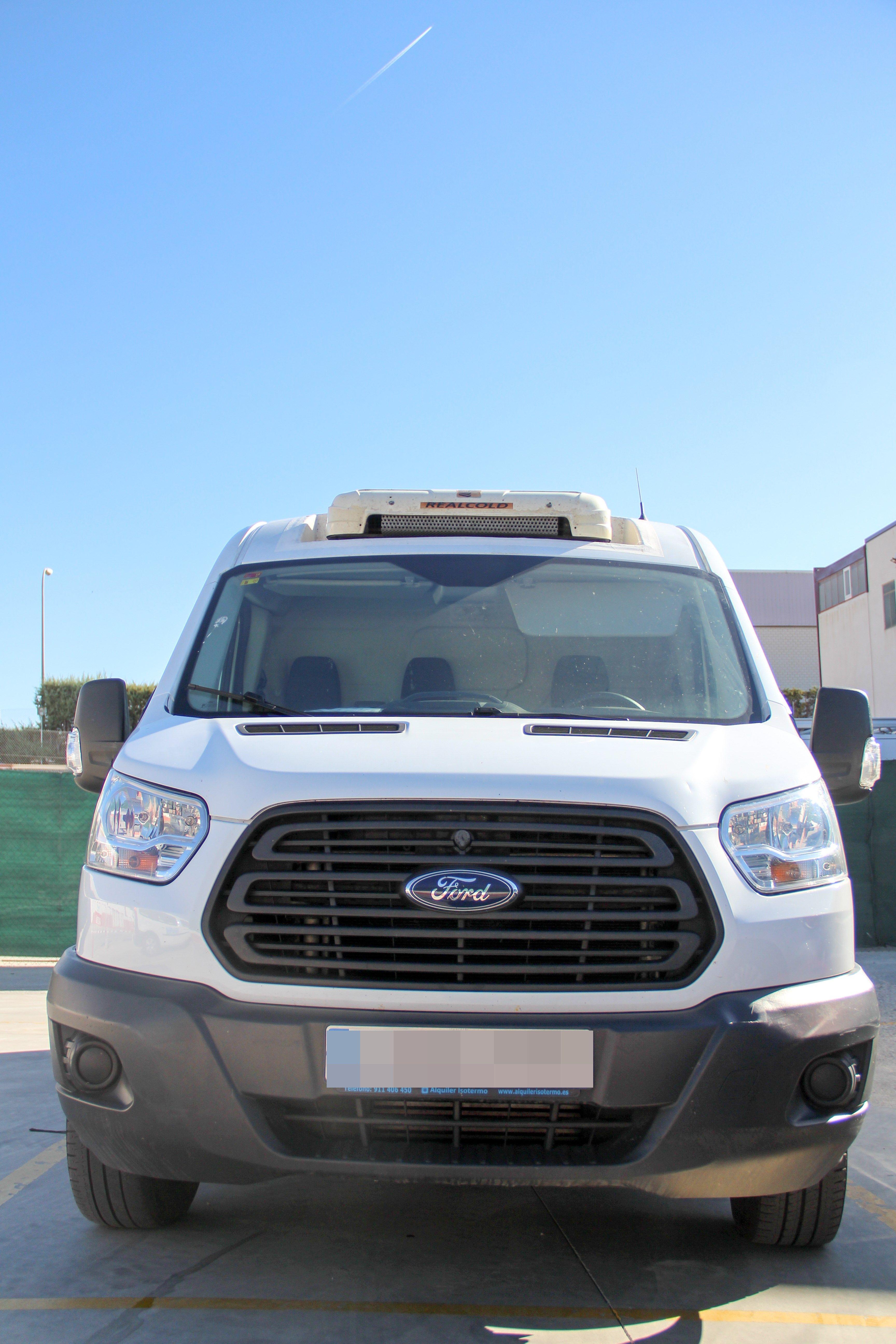 Parte frontal vehículo Transfel 2.0
