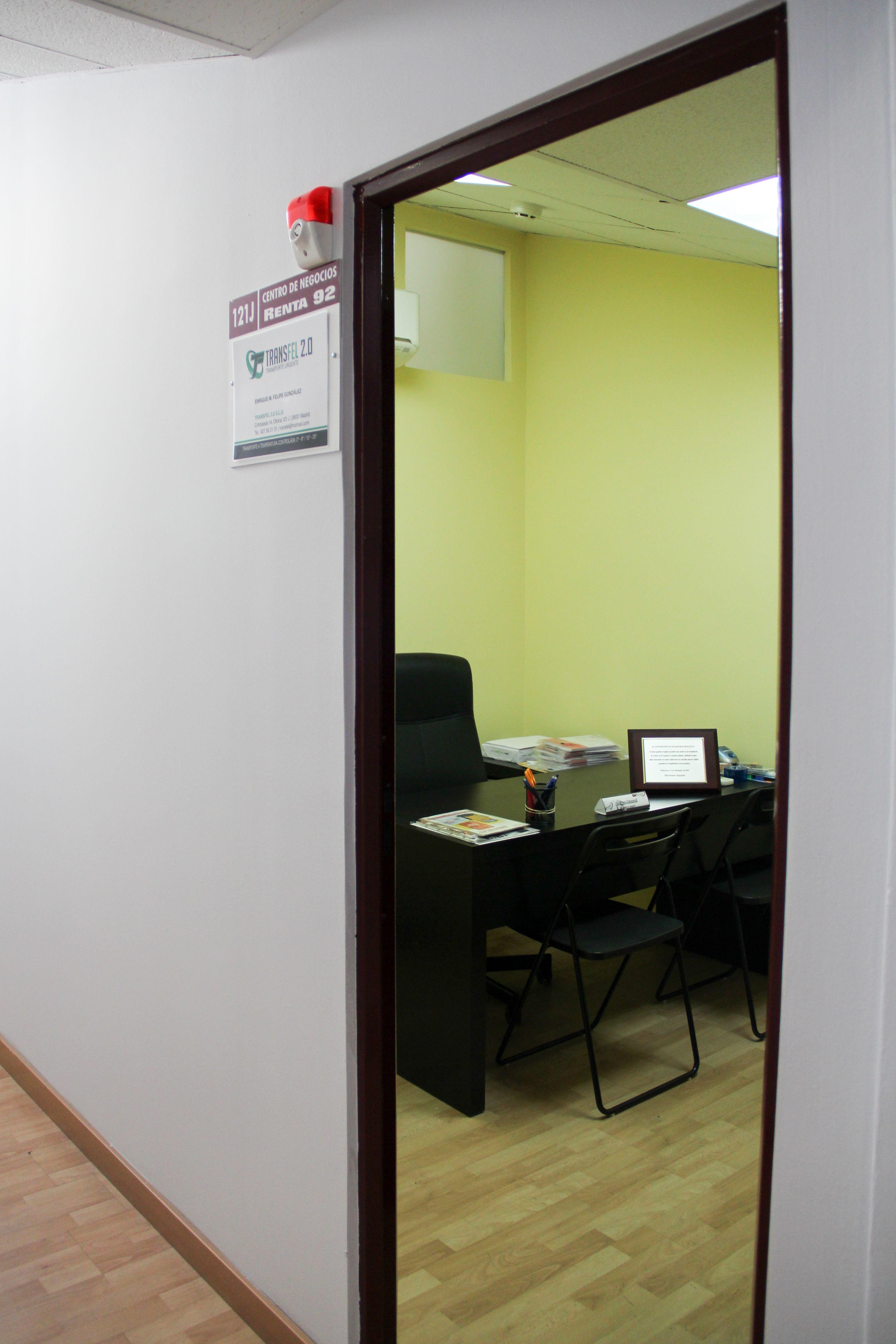 Entrada oficina Transfel 2.0