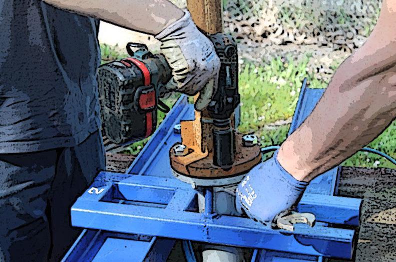 Instalación y mantenimiento de bombas
