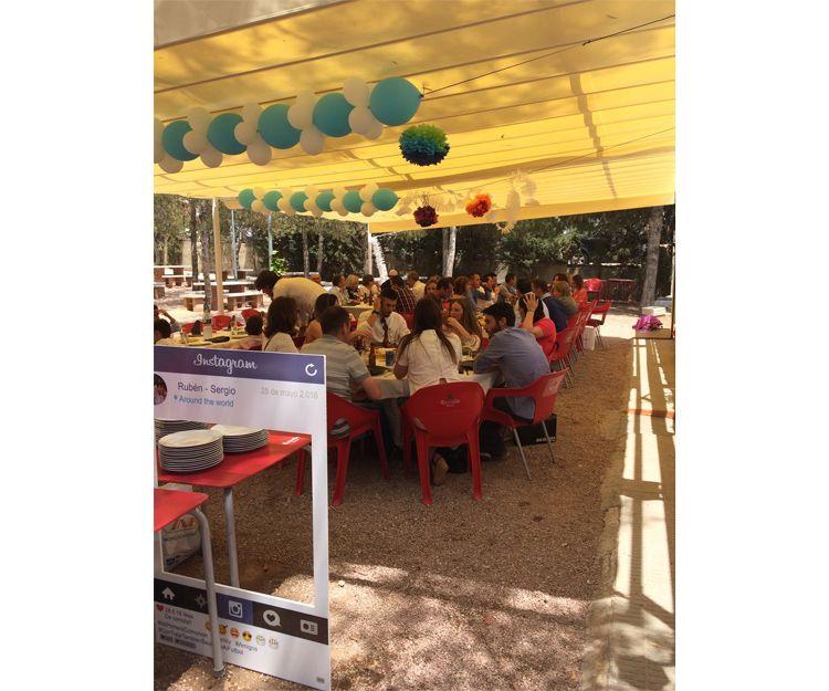 Restaurante con terraza en Elche