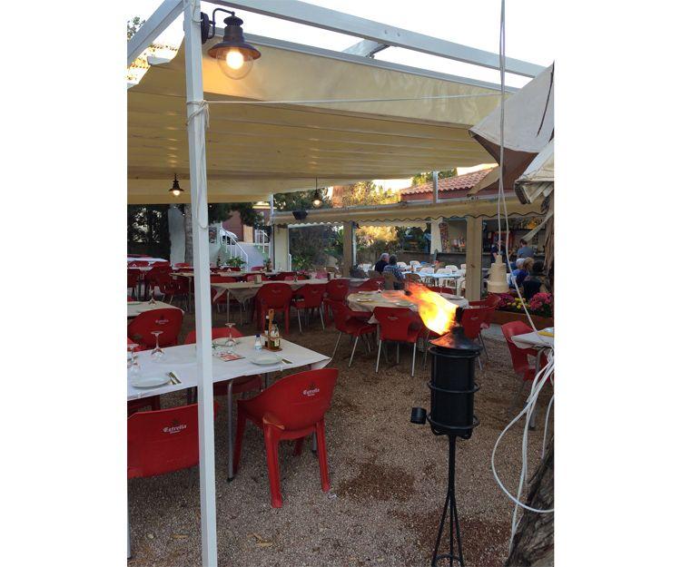Restaurante con terraza de verano en Elche