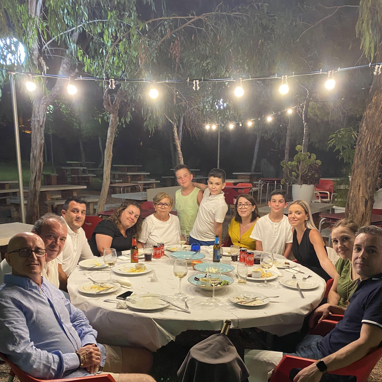 Pedro y familia!!