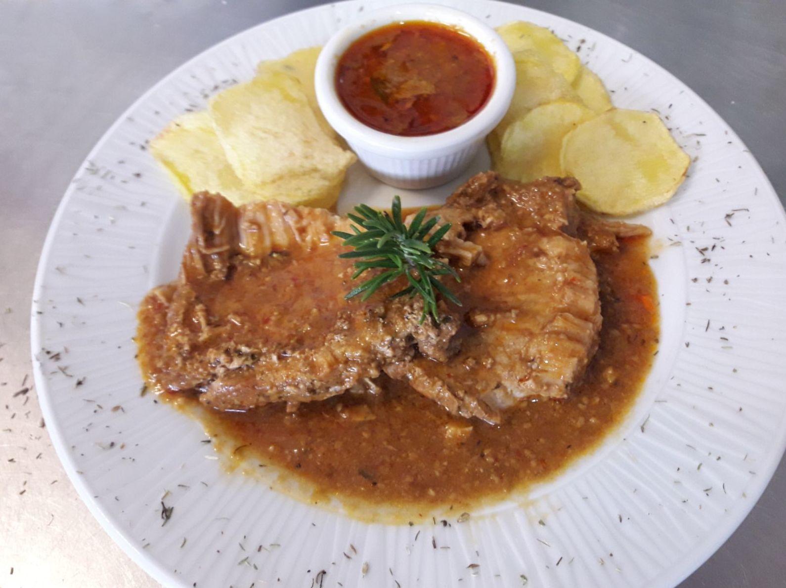 Lomo braseado en Restaurante Bonavista Elche
