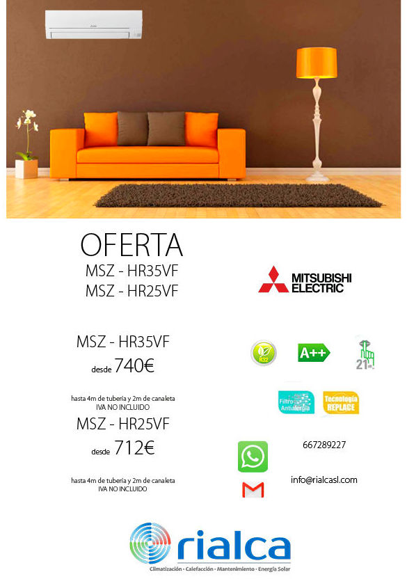 Oferta Mitsubishi electric