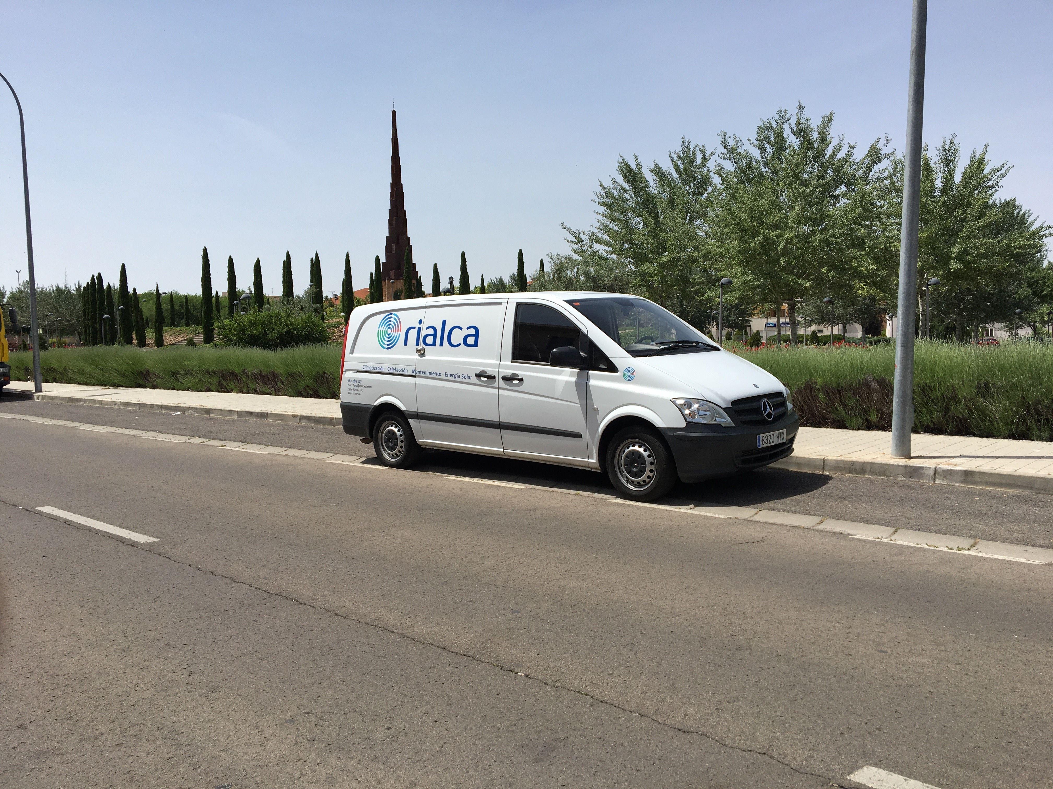Rialca, calefacción y aire acondicionado en Alcorcón