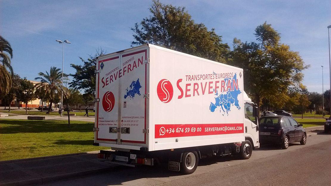 Transportes y mudanzas en Cádiz