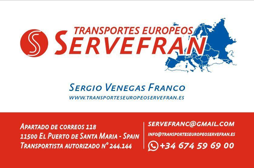 Foto 3 de Portes y mudanzas en El Puerto de Santa María   Transportes Europeos Servefran