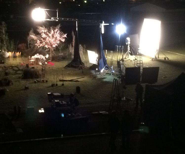 Iluminación cinematográfica en Madrid