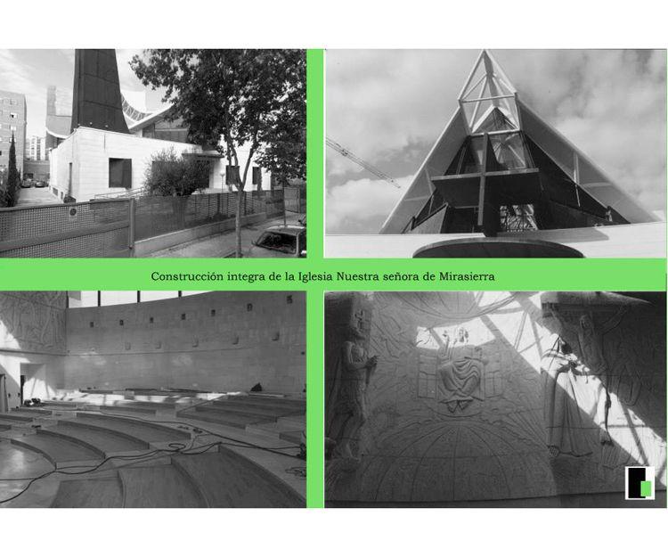 Construcción íntegra de la Iglesia de Nuestras Señora de Mirasierra