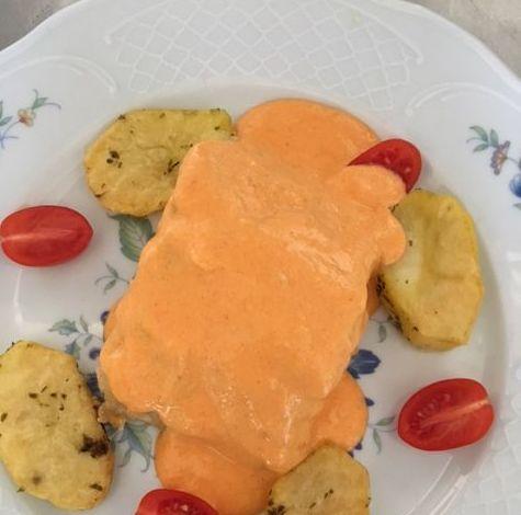 lomo de bacalao en salsa