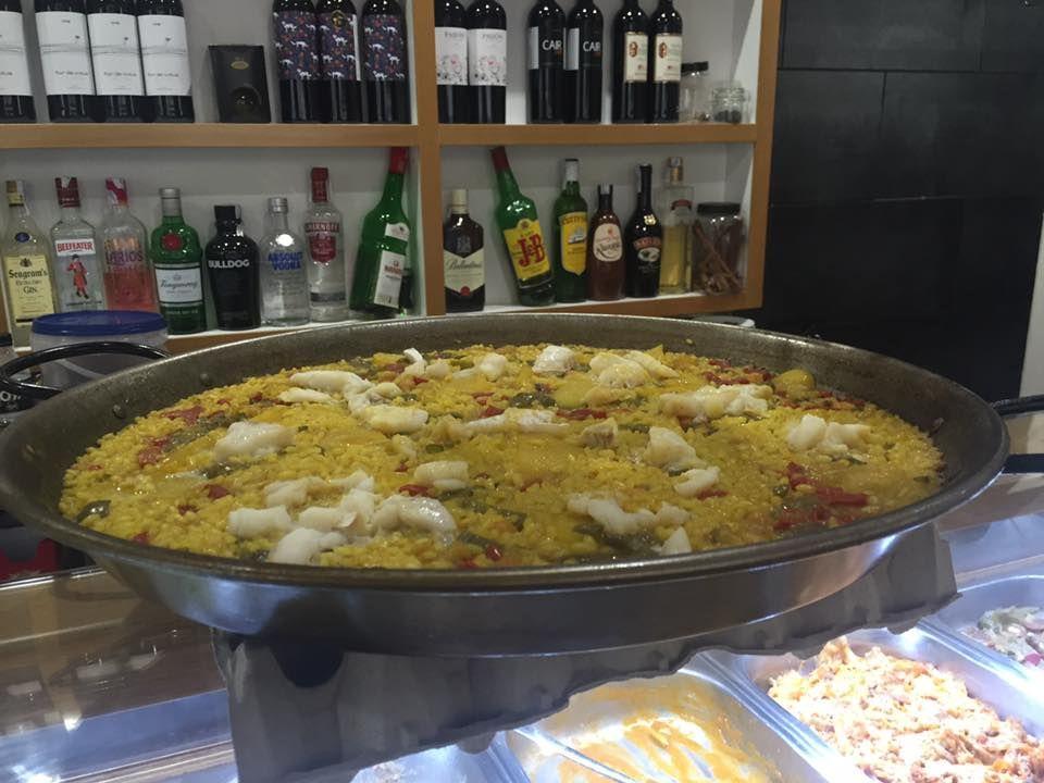 Paella de marisco en Castellón