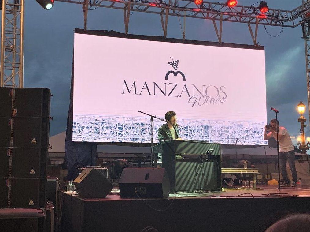 Pantallas Movidic en el IV Manzanos Wines Festival en San Sebastián