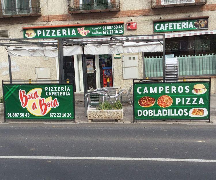 Pizzería en Daganzo de Arriba
