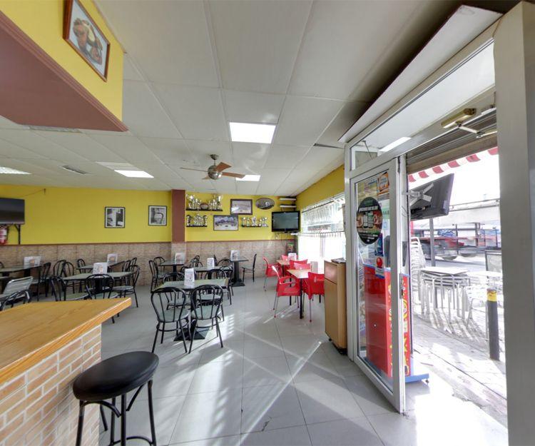Interior de nuestra pizzería en Daganzo de Arriba