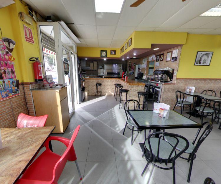 Interior de nuestro restaurante en Daganzo de Arriba