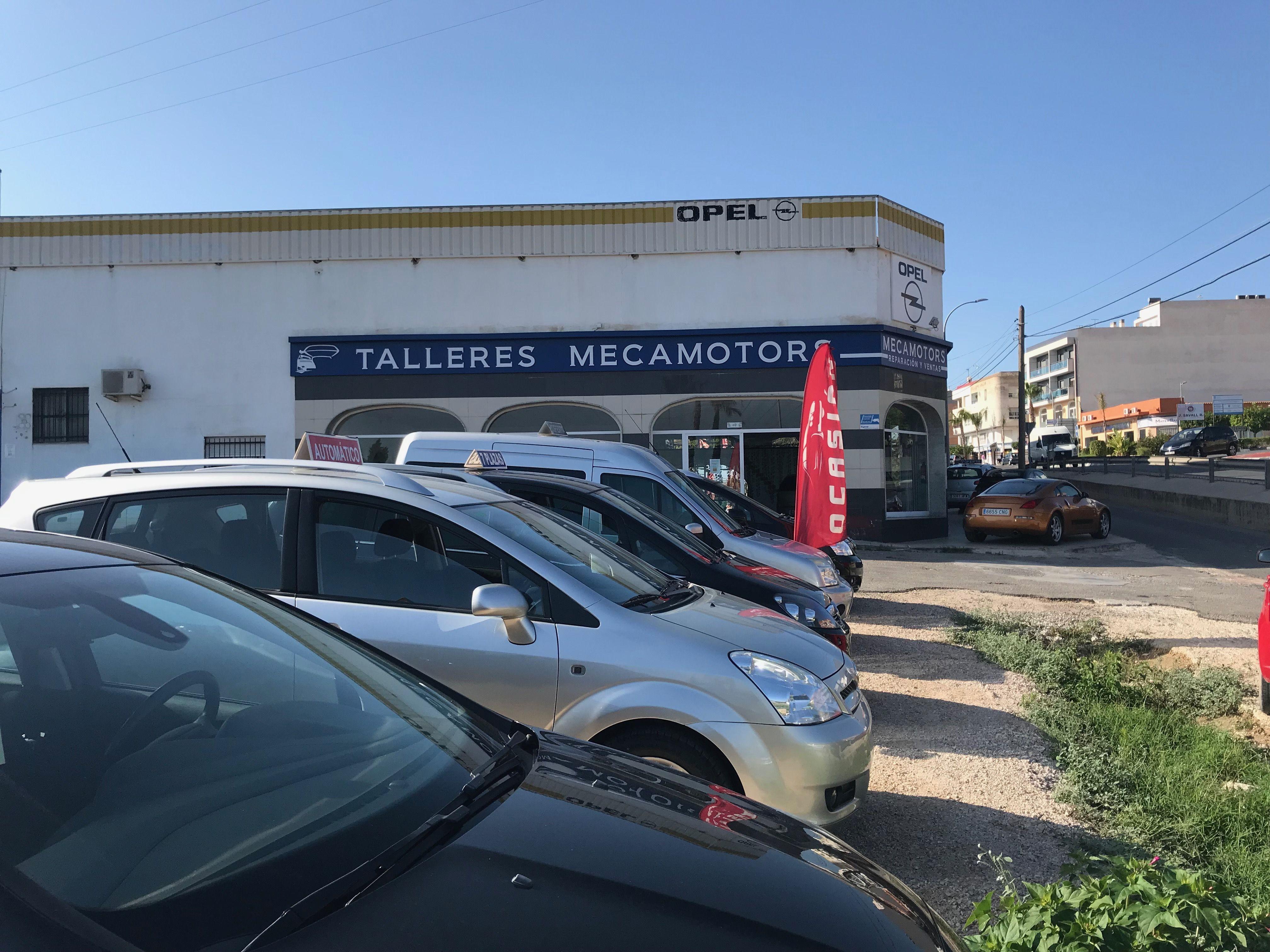 Taller con vehículo de sustitución Alicante