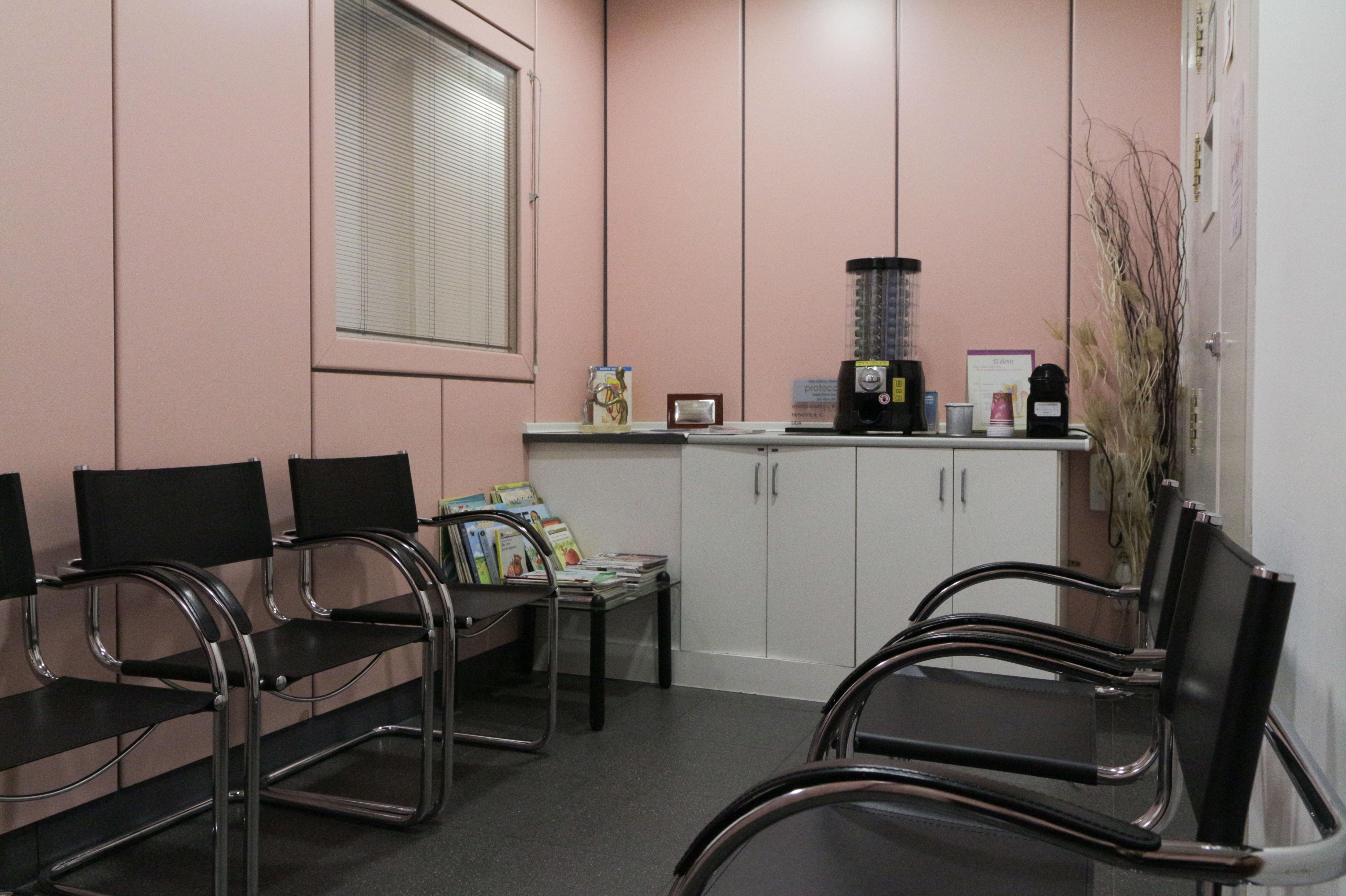 Sala de espera de nuestra clínica