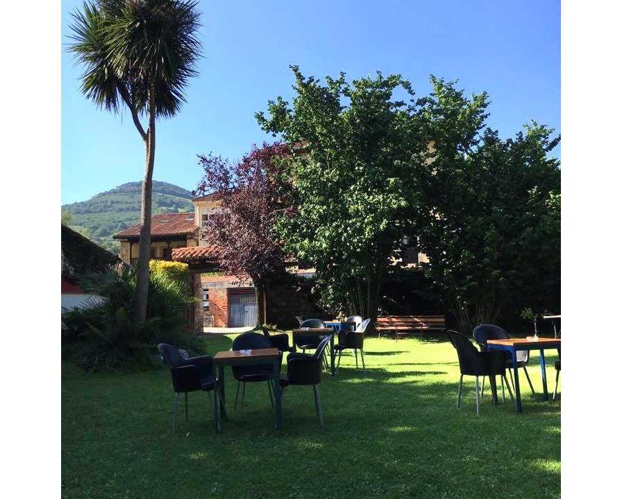 Magnífica terraza para disfrutar con tus amigos en Cabrales