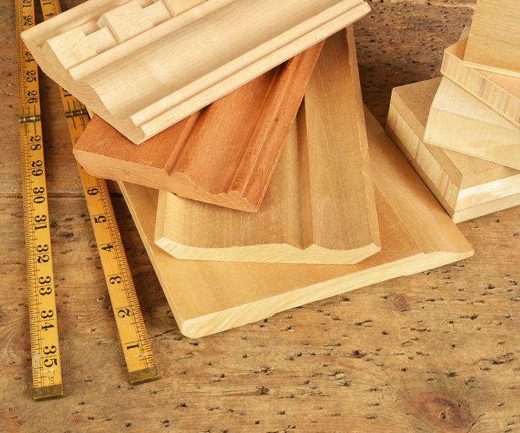 Fabricantes de molduras de madera en Jaén