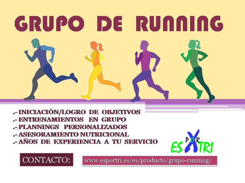 GRUPO RUNNING:  de ES POR TRI