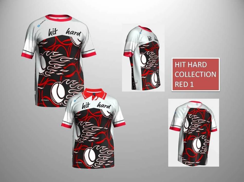 HIT HARD COLLECTION RED 1:  de ES POR TRI