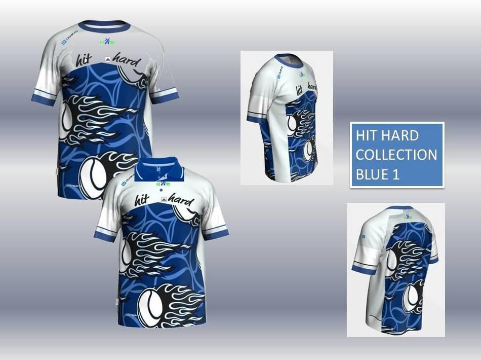 HIT HARD COLLECTION BLUE 1:  de ES POR TRI