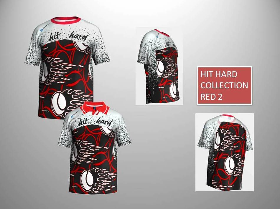 HIT HARD COLLECTION RED 2:  de ES POR TRI