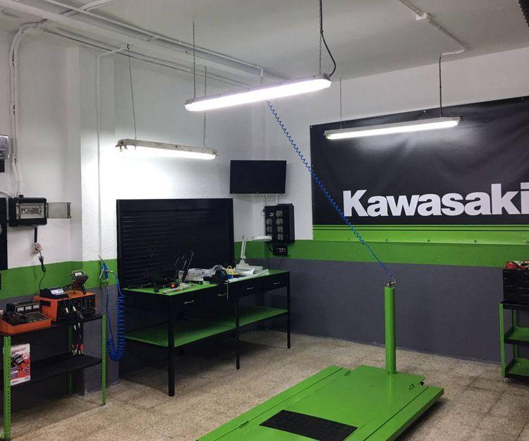 Servicio técnico de Kawasaki