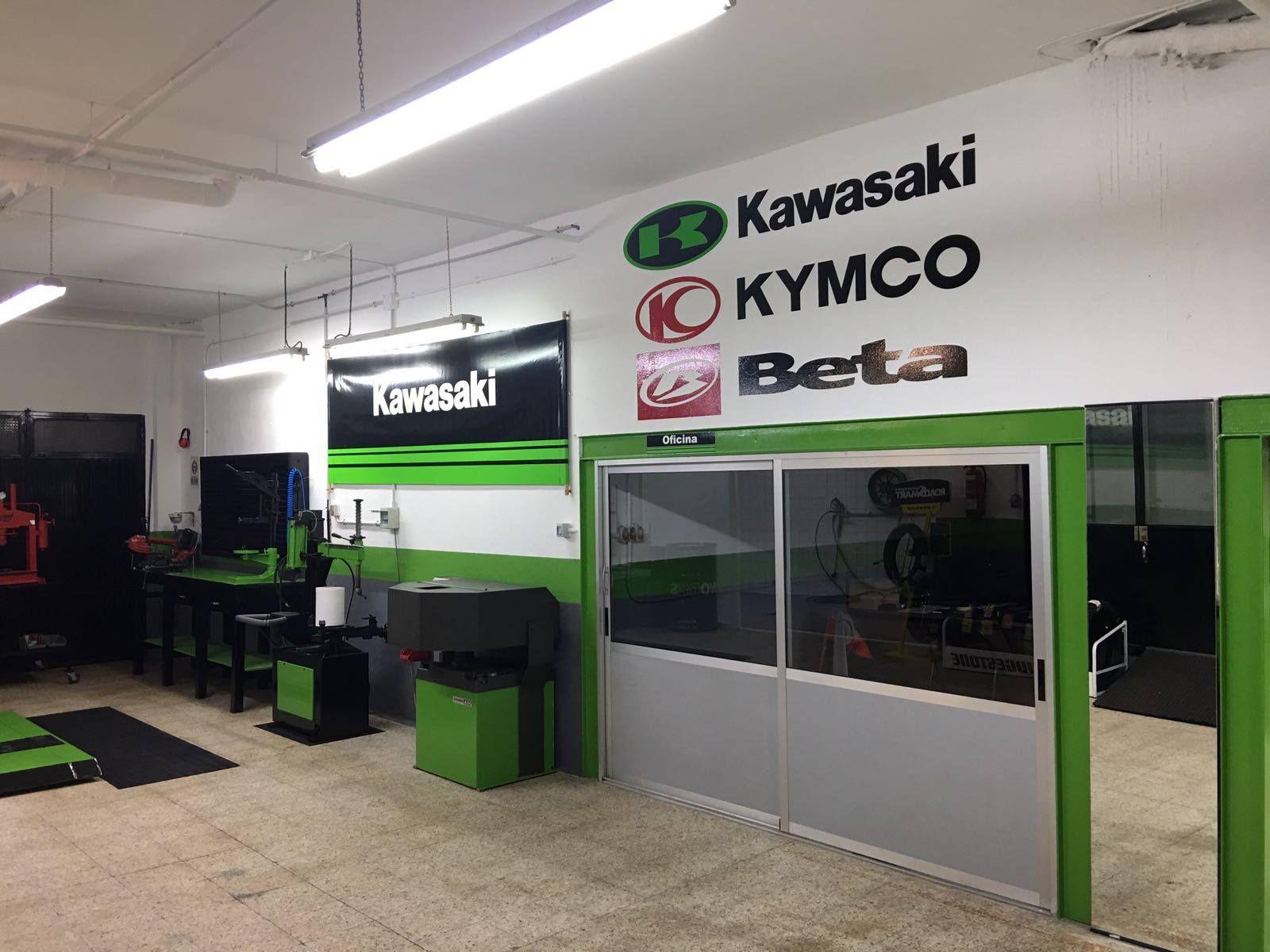 Servicio técnico de Kymco