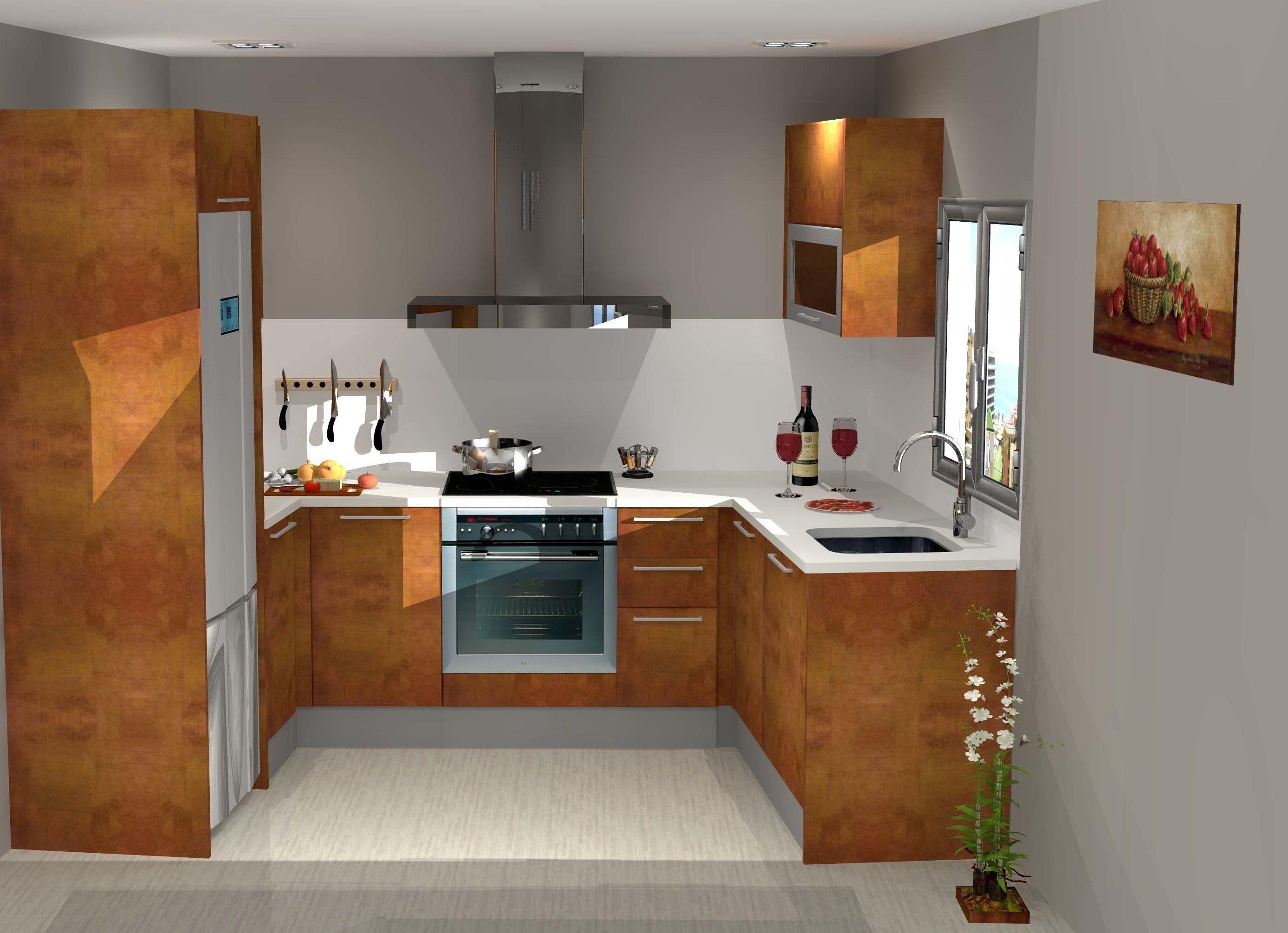 Tu cocina adaptada a tu espacio