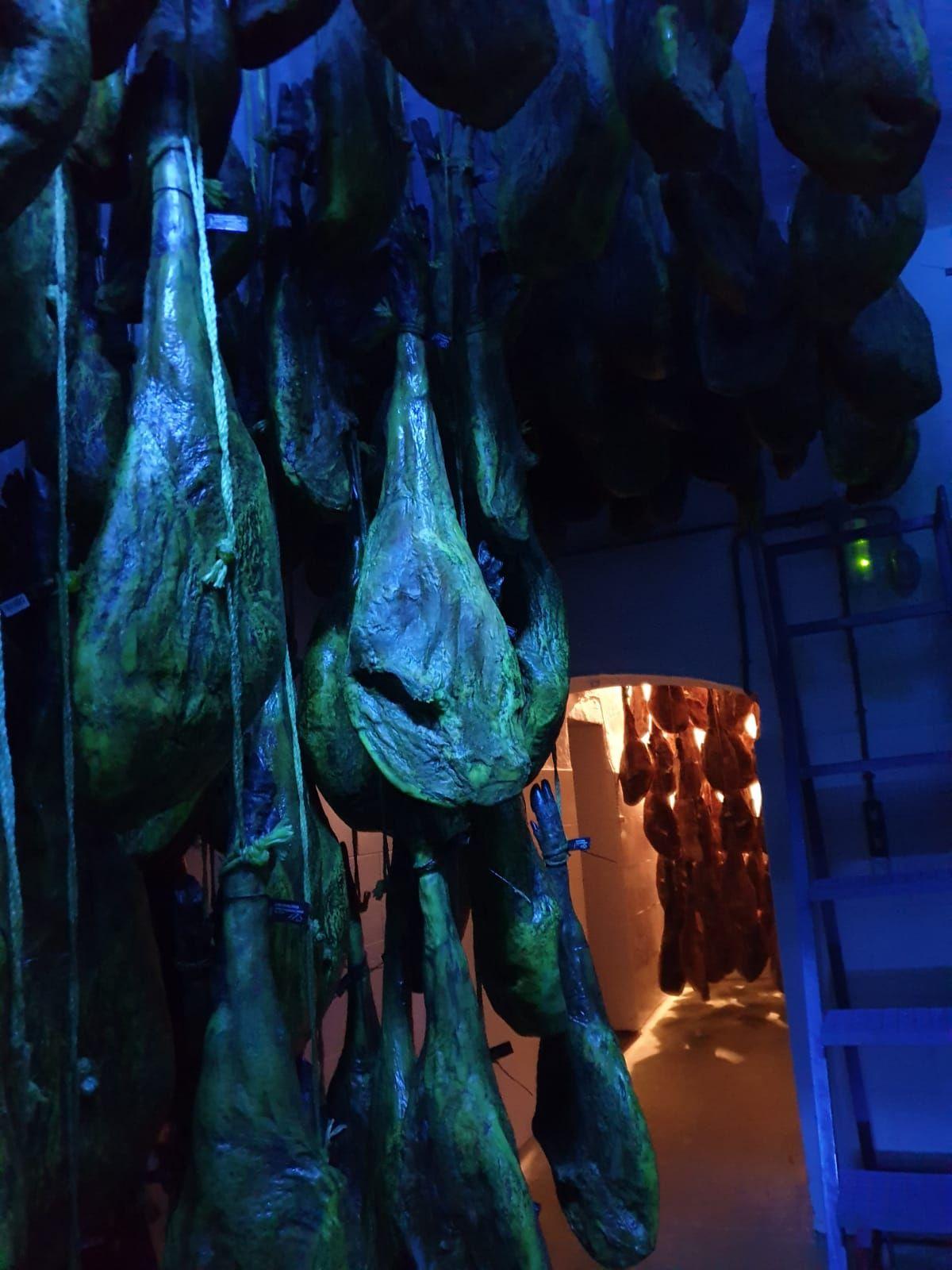 Jamones ibéricos de Jabugo en Islantilla
