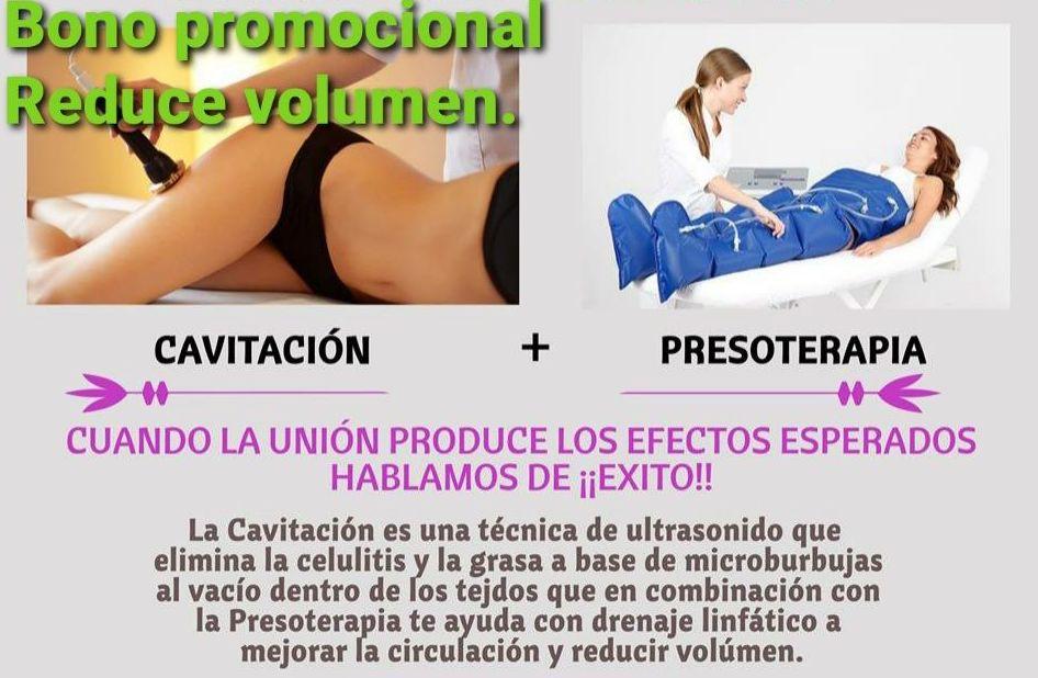 ULTRA CAVITACION + PRESOTERAPIA 6 SESIONES 150€